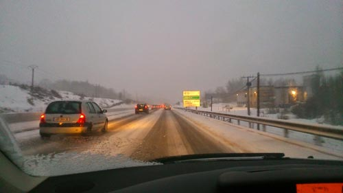 Route & Sécurité conseils pour la conduite sur neige